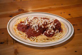Za's Lakefront, Spaghetti & Meatballs